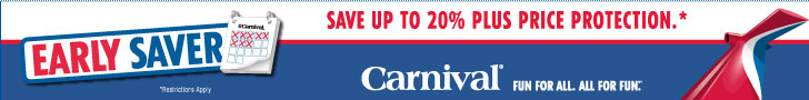 carnival cruise lines save up to 30%