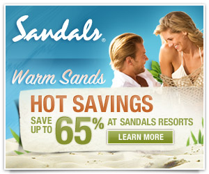 Sandals resorts with www.ascottravel.com